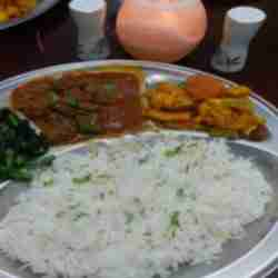 Curry Platter